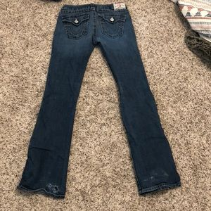 True religion boot cut jeans size 28